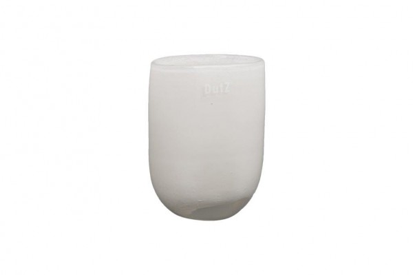 Oval Vase White