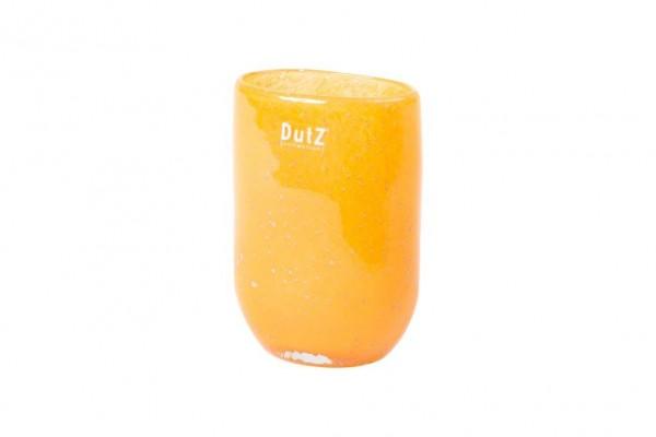 Oval Vase Mandarine Bubbles