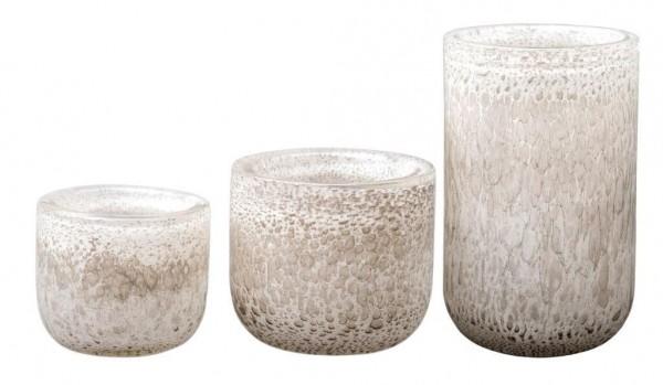 DutZ Vase Thick - White Bubbles