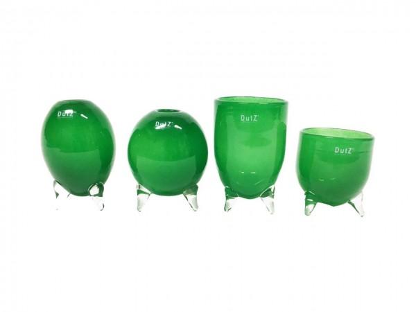 DutZ Evita - Glasvasen auf 3 Füssen Green