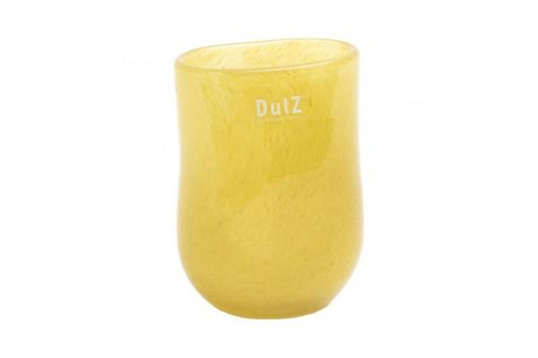 Oval Vase Mustard