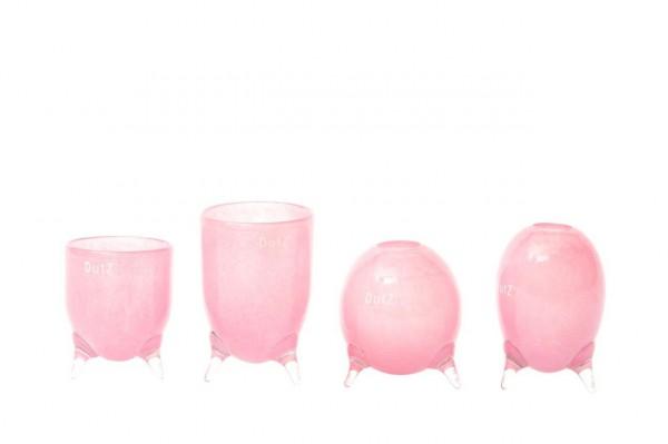 DutZ Evita-Glasvasen auf 3 Füssen Fuchsia